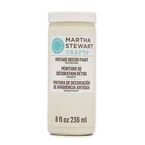 Martha Stewart Crafts 33532 Martha Stewart Vintage Decor Matte Chalk Linen, 8 oz Paint,