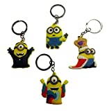 Despicable Me Keychains 4 Pcs Set #5 by Atlantis USA
