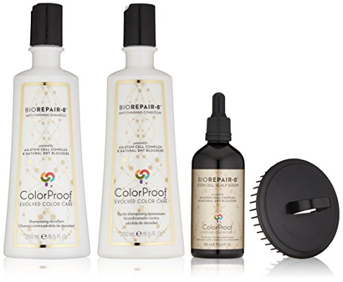 Kit Scalp Therapy (ColorProof Evolved Color Care Biorepair-8 Anti-Aging Scalp & Hair Therapy Kit)