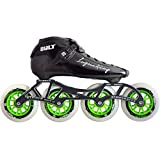 Atom Luigino Bolt Inline Skate Package (Size 3, Green)