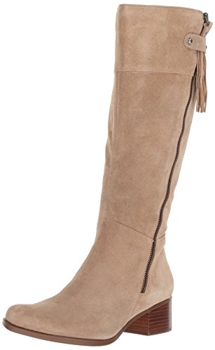 Naturalizer Women's Demi Riding Boot, Oatmeal, 6.5 W US by Naturalizer (Image #1)