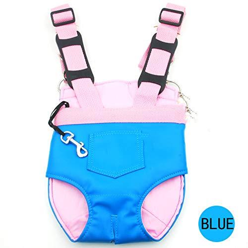 Dog Carrier Fashion Travel Dog Backpack Pet Bags Shoulder Pet Puppy Carrier,Blue,L