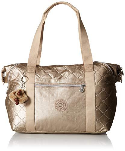 Kipling Art Handbag,  Toasty Gold Embossed, One Size