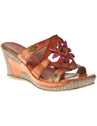 Spring Step Womens Bijou Slide Sandals