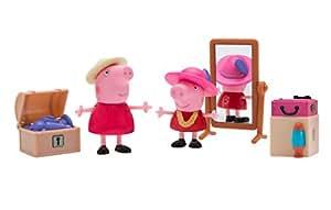 Peppa Pig Little Rooms Attic Granny Pig, Peppa and Grandma Pig