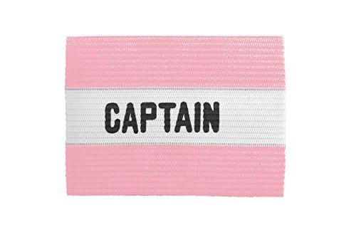 (Kwik Goal Adult Captain Arm Band, Pink)
