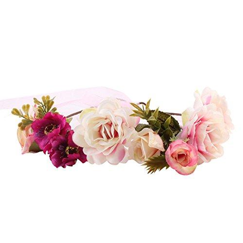 Fabric Flower Garland - 7
