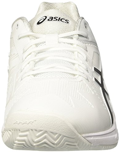Solution 3 Blanc Silver Speed Homme Cassé Asics de Clay Chaussures White Tennis Gel w6Tqf4