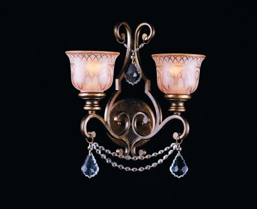 Sutton 4 Ligth Crystal Candle Chandelier Color Accents: Amber