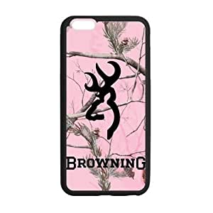 Pink Camo Camouflage Browning Cutter Logo Custom Case Cover of iPhone6 iPhone 6 Plus 5.5