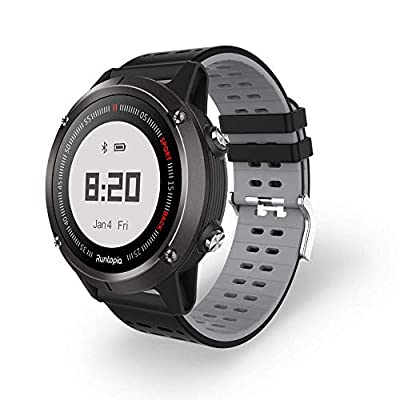 runtopia Professional Outdoor Running GPS Watch with Heart Rate Monitor and Maps GPS Tracking Running for Entry Level Runners, Compatible with iOS and Android