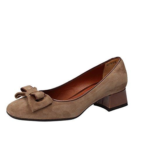 Mujer marrone Beige Para De Melluso Beige Vestir Zapatos 0xBqOnnzS