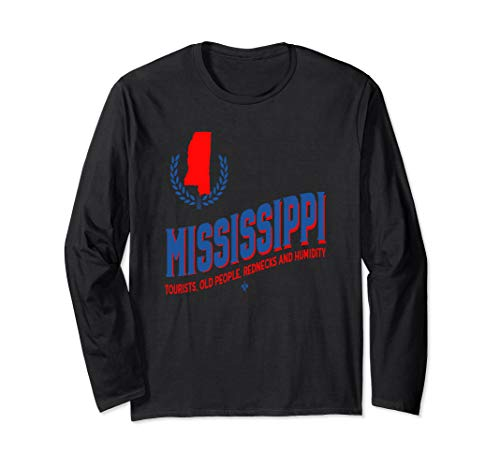 Mississippi Roots State Map Long Sleeve T-Shirt
