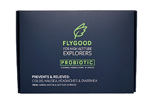 Flygood Probiotic High Altitude Travel Vitamin: For altitude sickness prevention