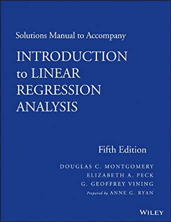 introduction to linear regression analysis 5th edition pdf free