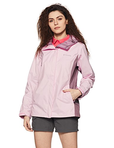 Columbia Women's Arcadia II Jacket, Whitened Pink, Large