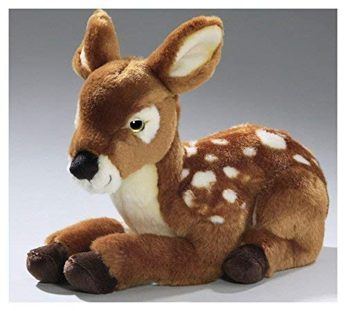 (Carl Dick Deer, Fawn, 11 inches, 28cm, Plush Toy, Soft Toy, Stuffed Animal 3167 )