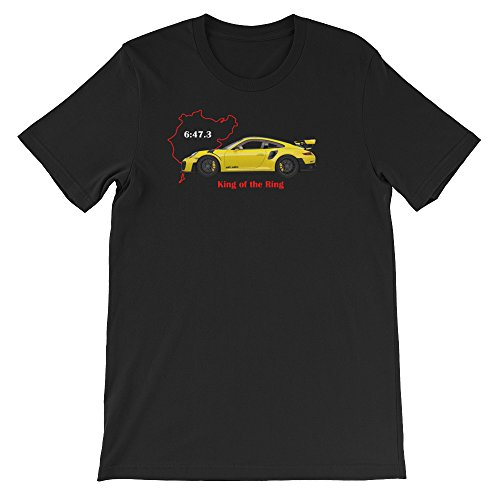 Shift Porsche 911 (King of the Ring – Porsche 911 991 GT2 RS Nurburgring Inspired Unisex T-Shirt)