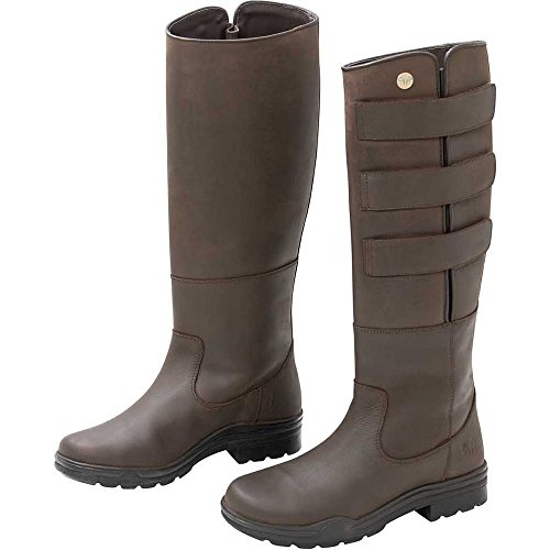 Trilanco Adults Leather Field Boots Brown eObZtvXnaM