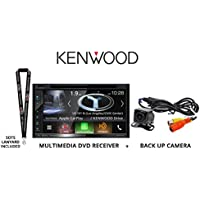 Kenwood DNX574S In Dash Navigation System 6.8 Touchscreen Display, Built in Bluetooth, HD Radio with Universal Backup Camera and a FREE SOTS Lanyard