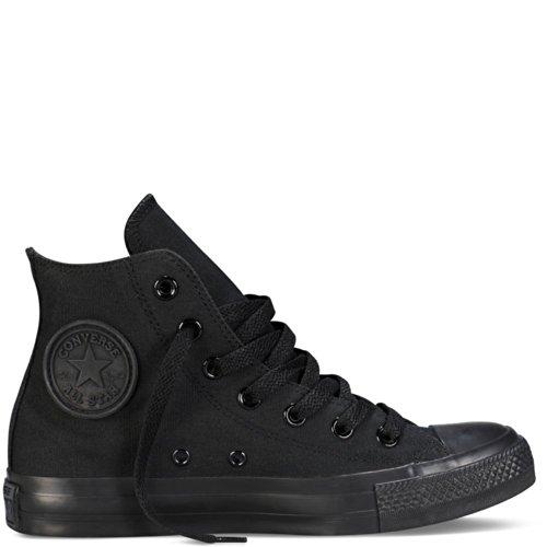 Converse Unisex Chuck Taylor All-star High-top Afslappet Sneakers I Klassisk Stil Og Farve Og Holdbare Overdel Af Lærred Sort / Sort NPfYH