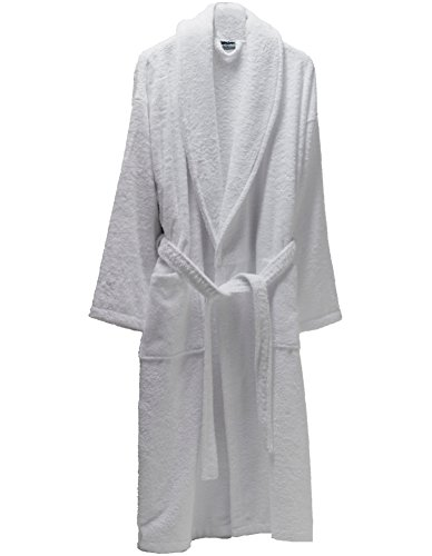Home & Garden Luxury Bathrobes For Men Women 100% Pure Cotton Hooded Style Terry Towelling Lustrous