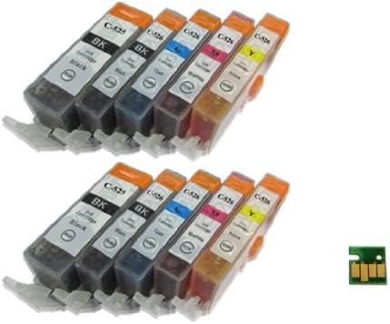 UCI PGI525CLI526 [ 10 tinta=2 x Set=no grey=BbMCY ] Non OEM ...