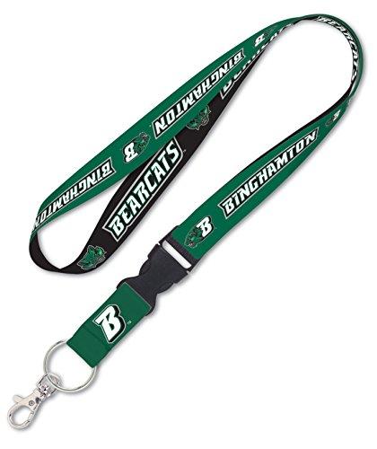 Binghamton University Bearcats Premium Lanyard Key Chain, 23 inches long, 1 inch wide