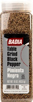 Badia Pepper Black Table Grind (Rollermill) 16 oz