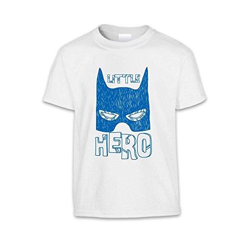 The T-Shirt Factory Shirt Little Hero - enfant Mixte Blanc