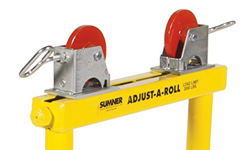 Sumner Manufacturing 783151 Roller Stand Quick Change Housing with Steel Wheels, Sold per Pair