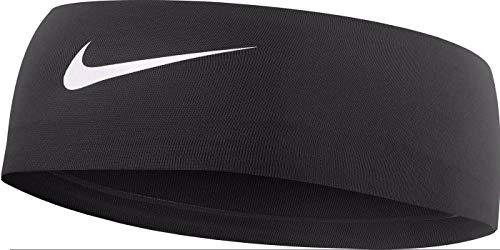 Nike Fury Headband, Black, 2.0(OSFM, Black/White) (Workout Headbands Nike)
