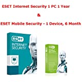 Internet Security 1 User 1 Year Activation Code + Free Mobile Security 1 Device 6 Months