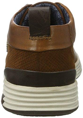 Bugatti Herren 322284011214 Hohe Sneaker Braun (Cognac / Cognac)