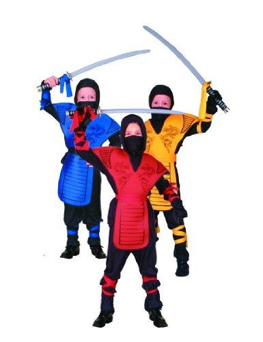 Amazon.com: Childs Red Ninja Dragon Halloween Costume (Size ...