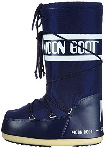 Tecnica Moon Boot Nylon, Botas de nieve Unisex adulto Azul (Blue 2)