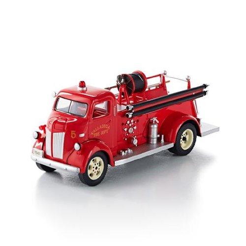1941 Ford Fire Engine Fire Brigade #11 2013 Hallmark Ornament