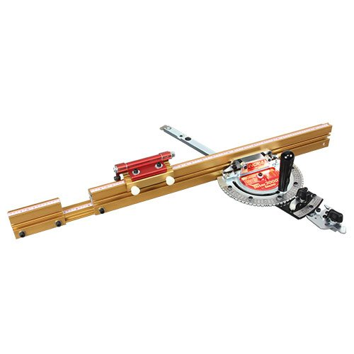 Incra MITER3000SE Miter Gauge with 27-Inch-49-Inch Telescoping Fence & Flip Shop Stop by INCRA