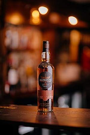 Glengoyne - Botella de Whisky de Malta Único de las Tierras Altas de 21 Años, 700 ml