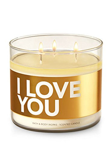 Bath & Body Works I LOVE YOU Conversation Candle 3 Wick, 14.5 Ounce, 411 Grams