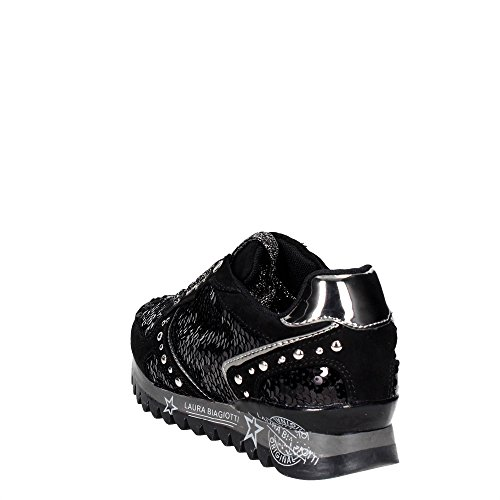 Biagiotti argento Nero 2 Sneakers Donna 2054 Laura 7qwg4dd