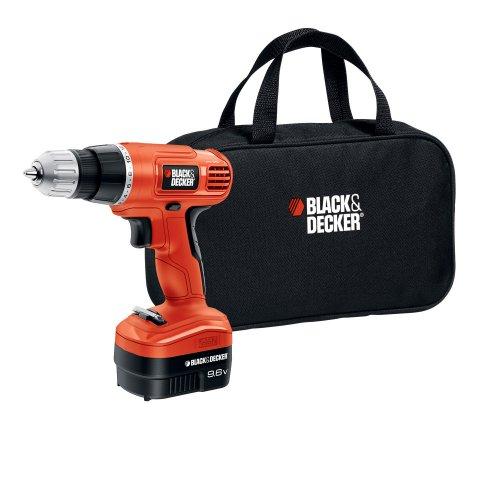 Black & Decker GCO9602SB 9.6-Volt Cordless Drill/Driver with Storage Bag by BLACK+DECKER
