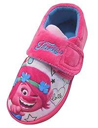 Dreamworks Trolls Girls Iya Low Top Slippers UK Sizes Child 6-12