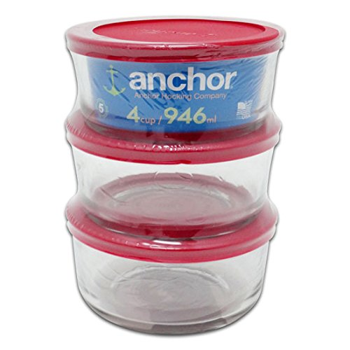 Anchor Hocking Food Storage Containers