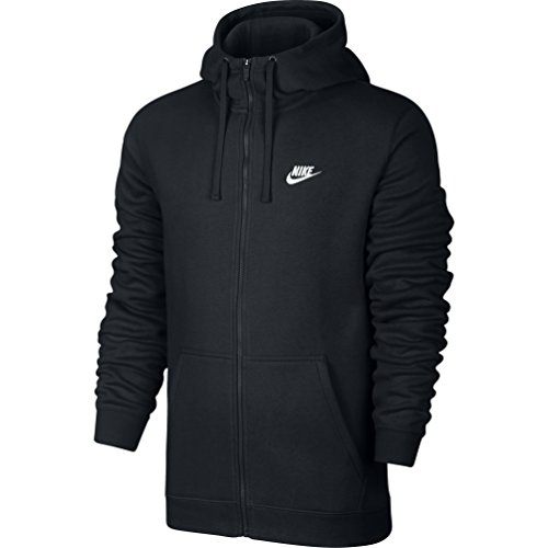 Men's Nike Sportswear Hoodie,Black/White,Medium