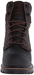 Timberland PRO Men\'s 8 Inch Rigmaster XT Steel Toe WP Work Boot, Brown Tumbled Leather, 12 M US