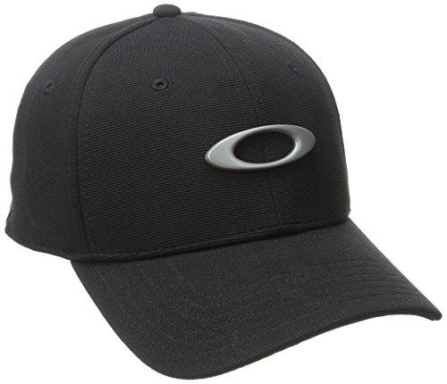 Oakley Men's Tincan Cap, Jet Black, Small/Medium
