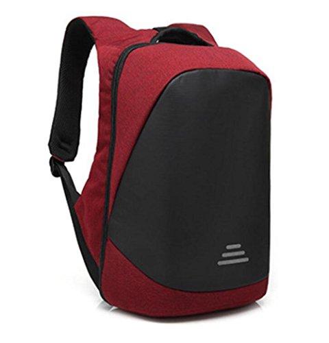 WYXIN Business Laptop Rucksack mit USB-Ladeanschluss, Notebook College Rucksack Satchel Schultasche für Walking, Radfahren, Reisen oder Mehrzweck-Daypacks blue