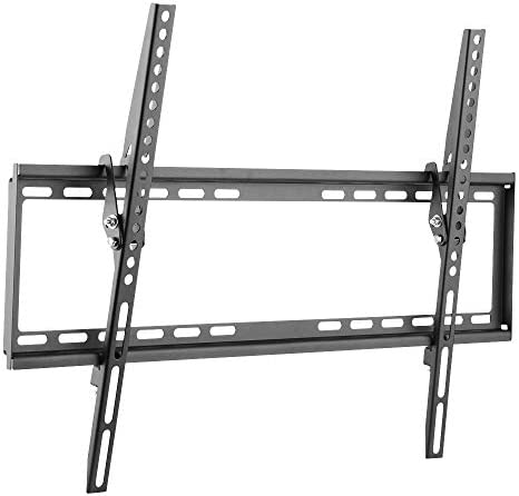 Cmple – Tilt TV Wall Mount Bracket for 37-70 Inches TVs, LED, LCD Flat Screens, Tilting TV Mount 8 Degrees for Anti-Glaring, Low Profile Space Saving Mount with maximum VESA 600×400 and 77lbs – 35kg