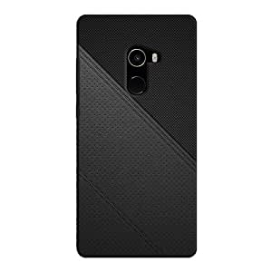 Cover It Up - Leather Stiched Mi Mix 2 Hard Case
